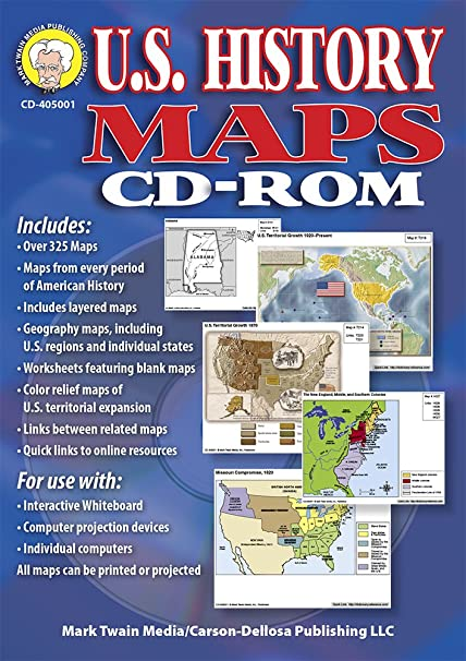 Amazoncom US History Maps Mark Twain Media Office Products