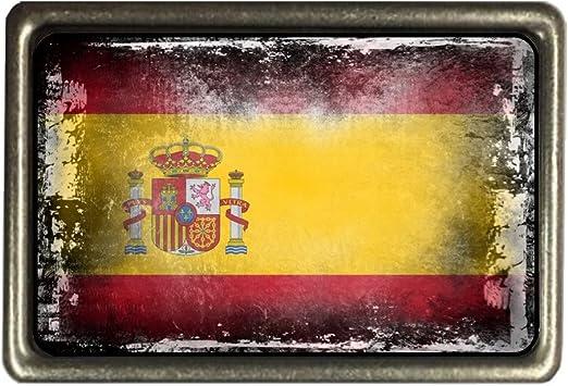 cadora Cinturón Hebilla Buckle Bandera España Shabby Chic ...