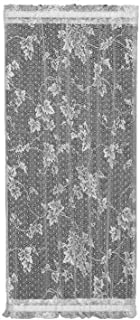 product image for Heritage Lace English Ivy 48-Inch Wide by 63-Inch Drop Door Panel, Ecru