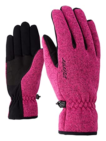 black melange Imagiana Lady glove Ziener