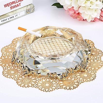 Carteras y accesorios para bolsos Cenicero de cristal Cenicero de polvo Obsequio del día del padre