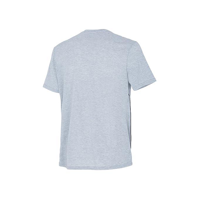 Diadora Sport 102173154 SS Camiseta, Hombre, Azzurro Scuro, Medium