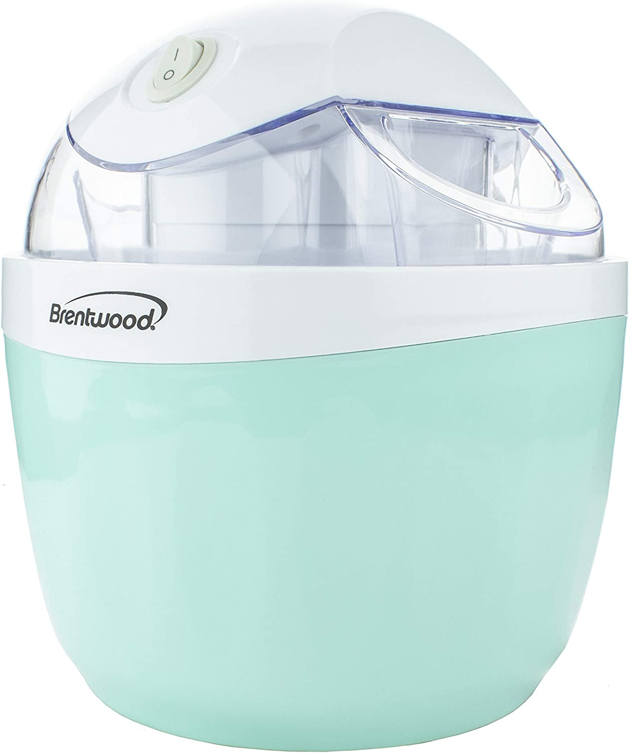 Brentwood TS-1410BL 1 Quart Ice Cream and Sorbet Maker, Frozen Yogurt, Gelato, and Custard Machine, Blue