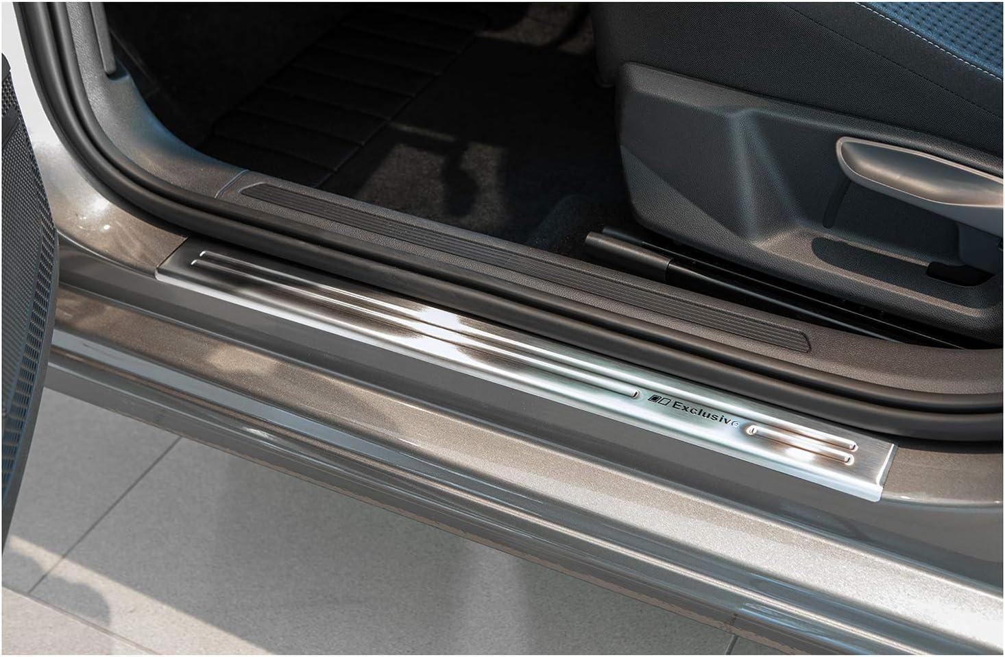 tuning-art XF500-3 Edelstahl Einstiegsleisten Set Farbe:Silber