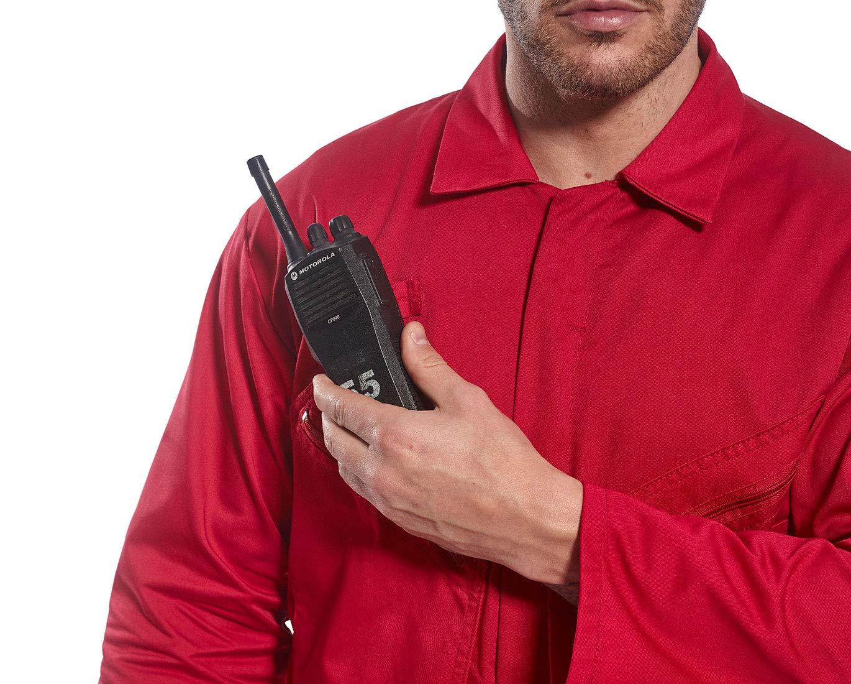 3/x -large regular rosso Portwest C813RERXXXL Liverpool zip tuta