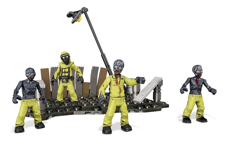 Mega Bloks Call of Duty Hazmat Zombies Mob Playset Mattel CNK31