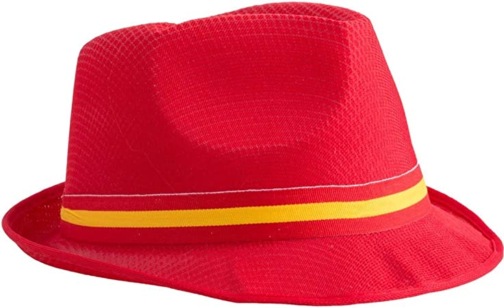 Funny Fashion Sombrero Bandera España: Amazon.es: Juguetes y juegos