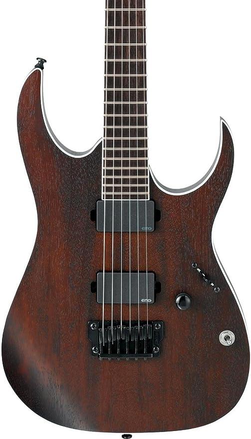 Ibanez Iron Label RG Series rgir20bfe fijo Puente Guitarra Eléctrica de nogal