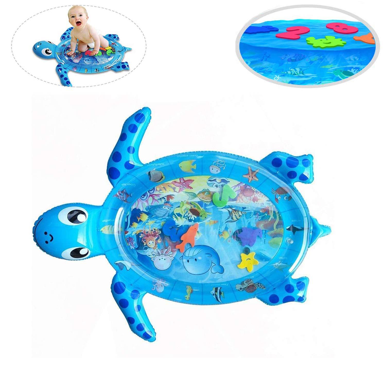 Baby Aufblasbare Wasserspielmatte Wasserkissen Früherzieh Spielzeug C8C1