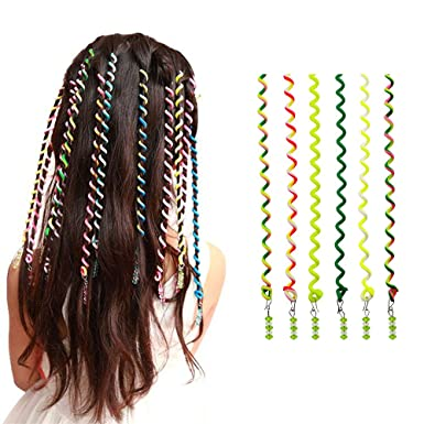 Amazon pack of 6 women girl hair styling twister clip braider pack of 6 women girl hair styling twister clip braider tool diy accessories green solutioingenieria Choice Image