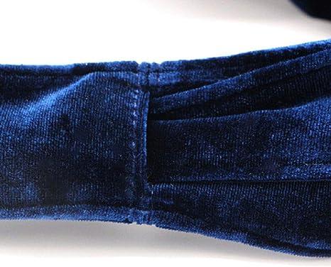 Cinturones de terciopelo para mujer, sin hebilla, largos, con lazo ...