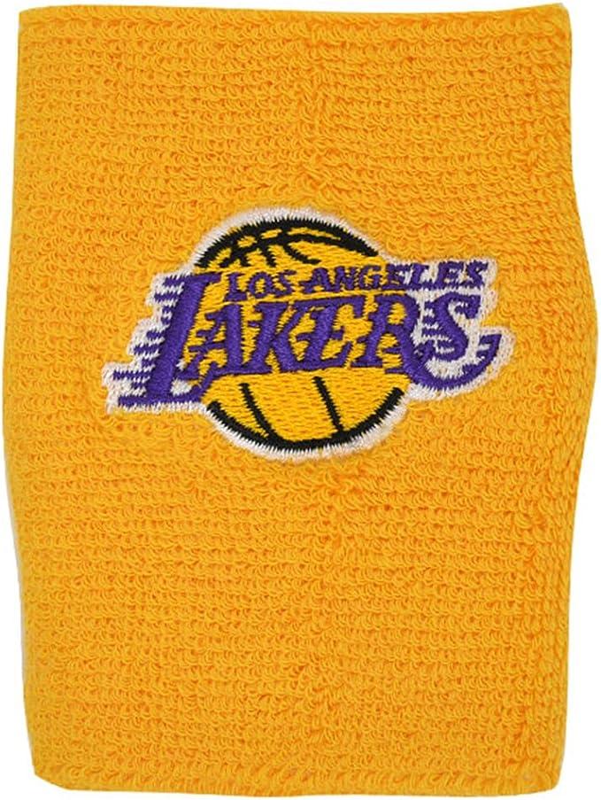 adidas LA Lakers NBA muñequera para el Sudor 996201: Amazon.es ...