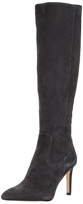 Sam Edelman Women's Olencia Knee High Boot, Asphalt Suede, 10 Medium US