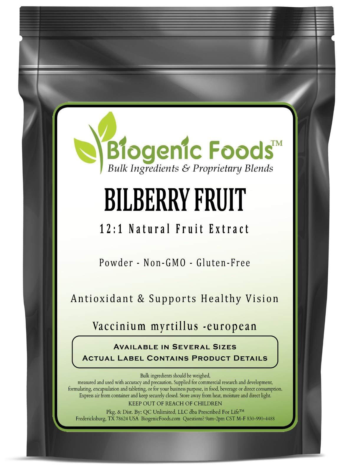Bilberry Fruit - 12:1 Natural Fruit Powder Extract (Vaccinium myrtillus -European), 10 kg