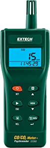 Extech CO260 Indoor Air Quality CO/CO2 Meter
