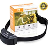 Dog Shock Collar No Bark No Harm Anti Bark Beep and Shock Pet Training Collar-Premium Quality Dog Control Collar with Adjustable Dog Collar for Both S or L Dog + Free Dog Basics and Training Guide