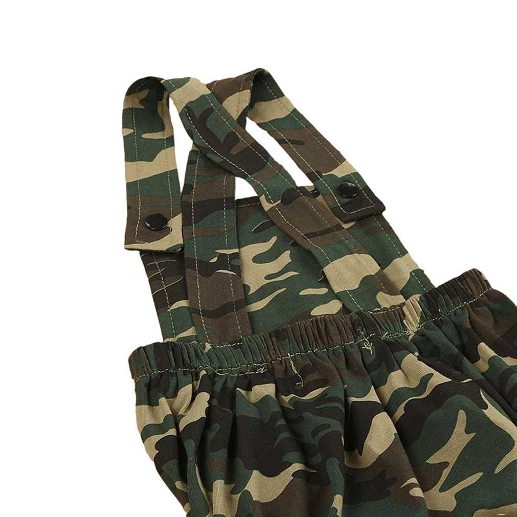 SAMGU Neugeborene Baby Jungen M/ädchen Camouflage /Ärmellose Spielanzug Bodysuit Overall Outfit Kleidung