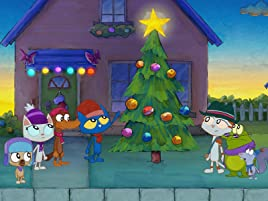 Pete The Cat Christmas.Amazon Com Watch Pete The Cat A Very Groovy Christmas