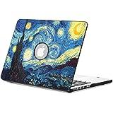 "Fintie MacBook Air 13 Pollice Custodia in Pelle - Pelle Sintetica + Corazza Dura Custodia Cover per Apple MacBook Air 13.3"" (A1466 / A1369),Starry Night"
