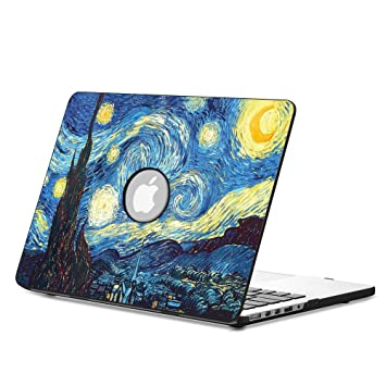 buy popular 1ea90 a5870 FINTIE MacBook Pro 13 Case (Non-Retina) - Premium Vegan Leather Coated Hard  Shell Protective Case Cover For Apple MacBook Pro 13.3