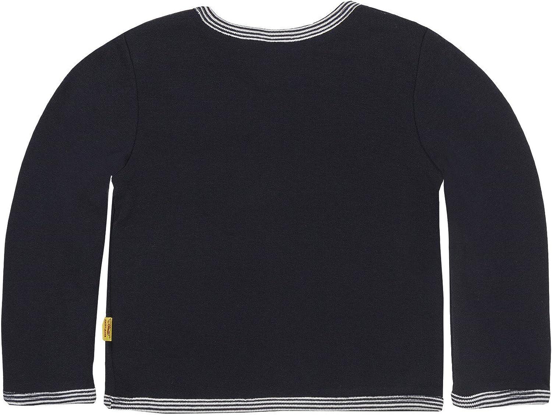 Steiff Baby-Unisex 6617 Sweatshirt Blau Marine|Blue 3032, Herstellergr/ö/ße: 62
