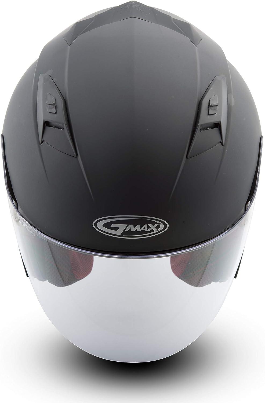 GMAX OF77 Mens Open Face Street Motorcycle Helmet Matte Black 2X-Large