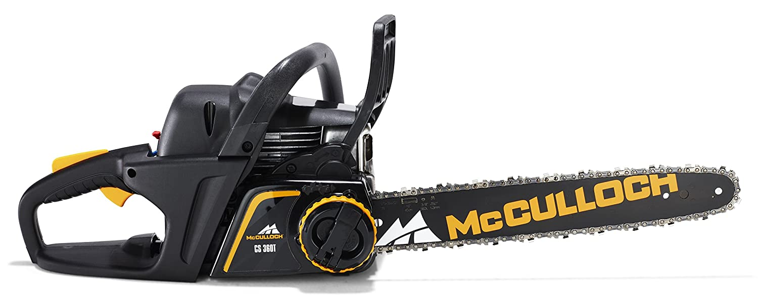 Mcculloch cs 360t petrol chainsaws black amazon diy tools keyboard keysfo Choice Image
