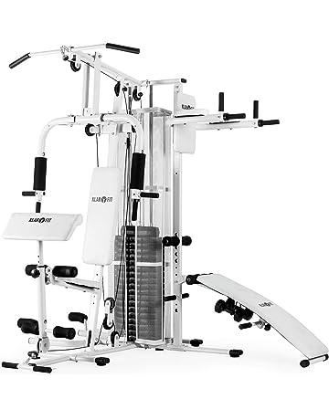 Klarfit Ultimate Gym 5000 • Máquina multiestación de musculación • Jaula de Entrenamiento • Estación Butterfly