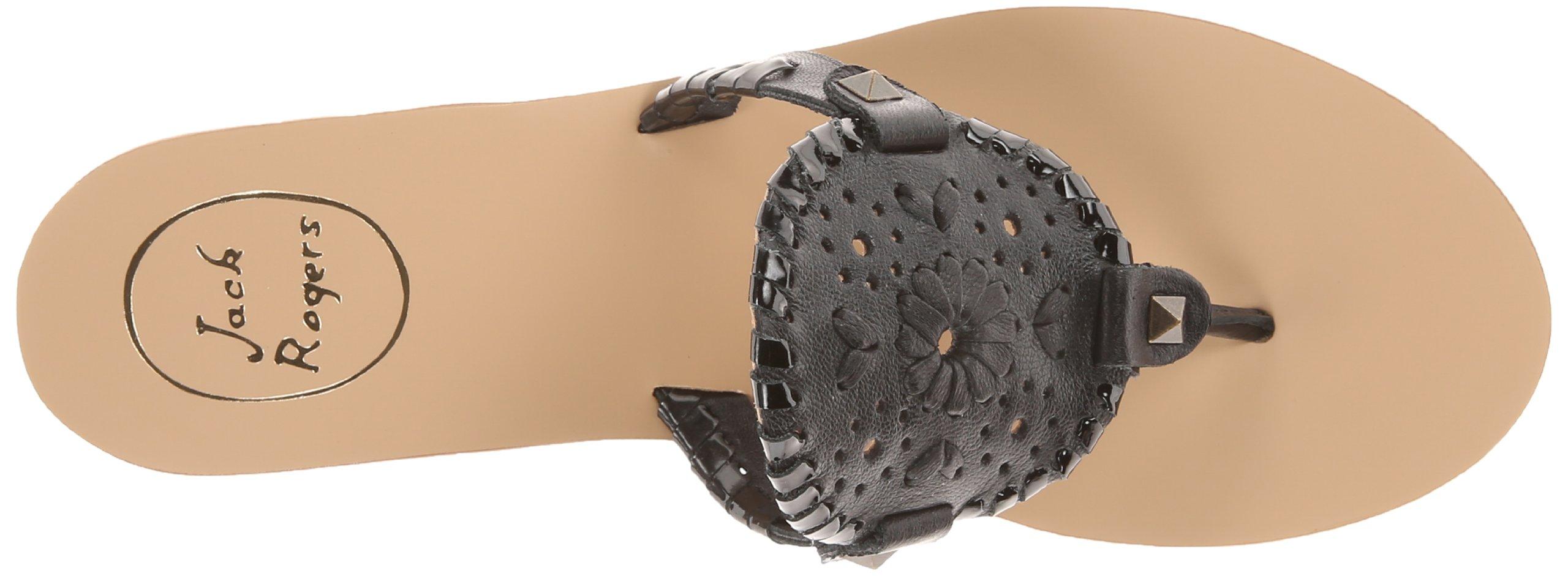 Jack Rogers Women's Georgica Sandal,Black/Black Patent,7 M US by Jack Rogers (Image #7)