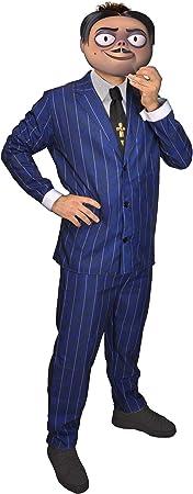 Ciao-Disfraz Gomez Addams Family, talla única, para hombre, azul ...