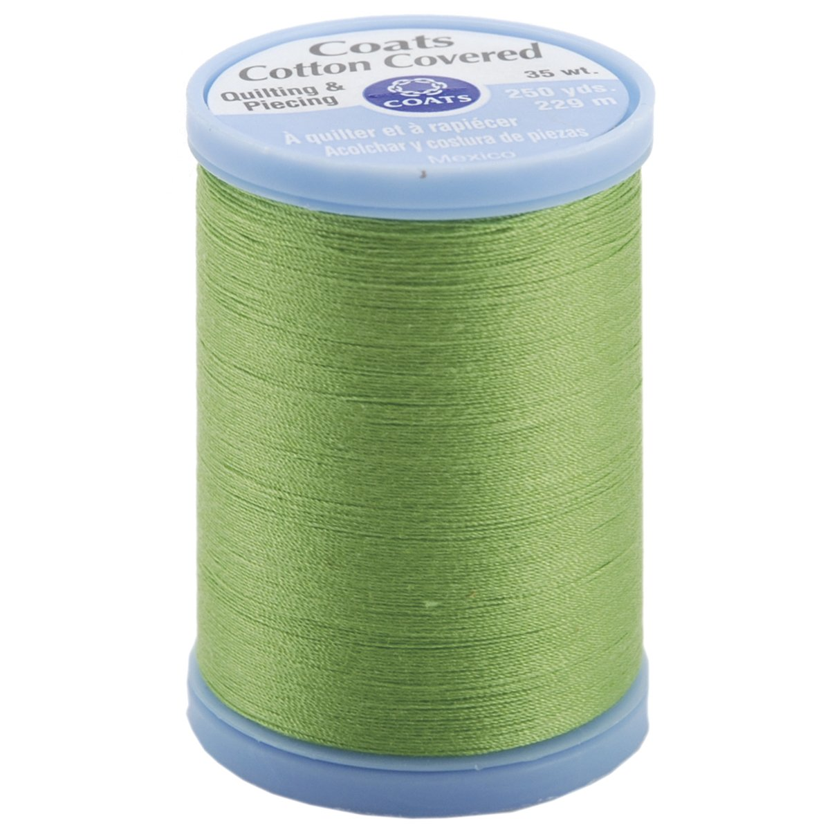 Cotton Covered Quilting & Piecing Thread 250yd-Lime Green Coats S925-6840 027781