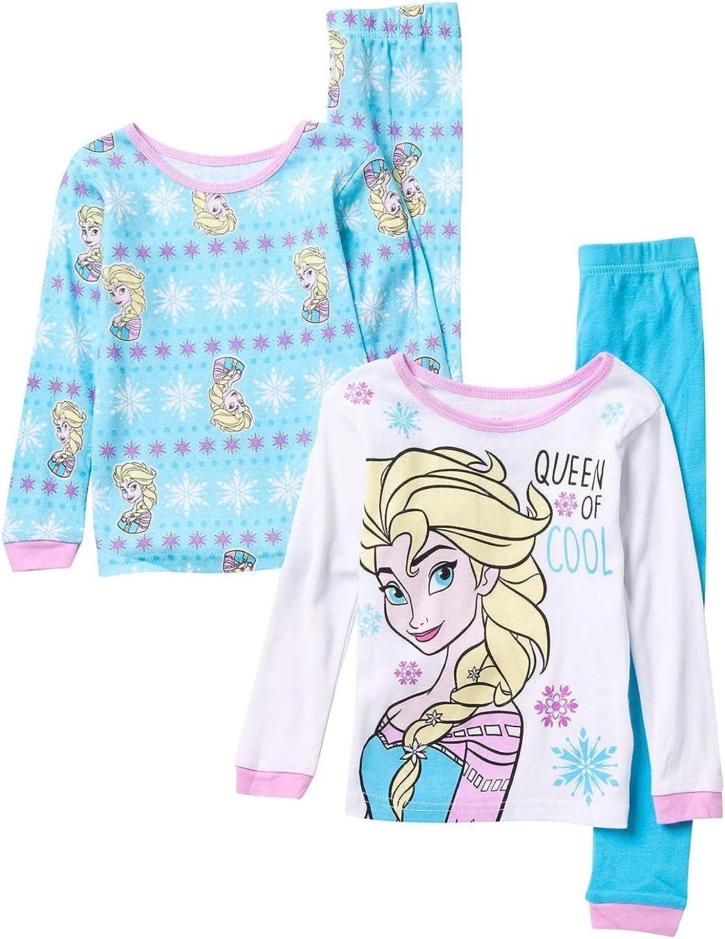 Girls toddler Disney FROZEN ELSA ANNA pink top t-shirt Sz 6 Age 24M Free ship