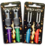 Set of 4 Saber Shaped Space Keys™ - Kwikset KW1 KW10