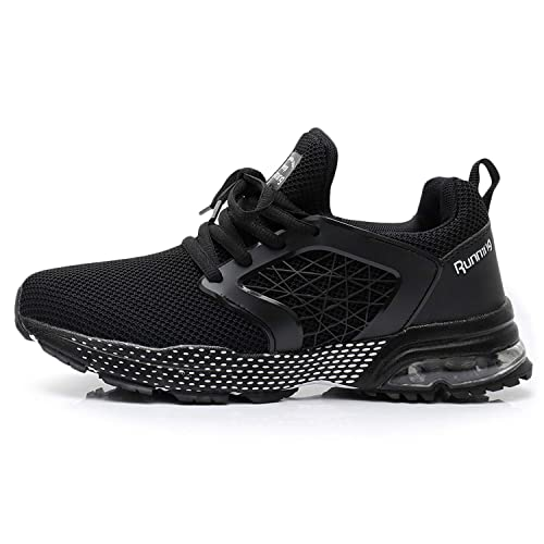 QAUPPE Womens Breathable Running Tennis Shoes Lightweight Air Sports Gym Jogging Walking Sneakers US5.5-10 B M