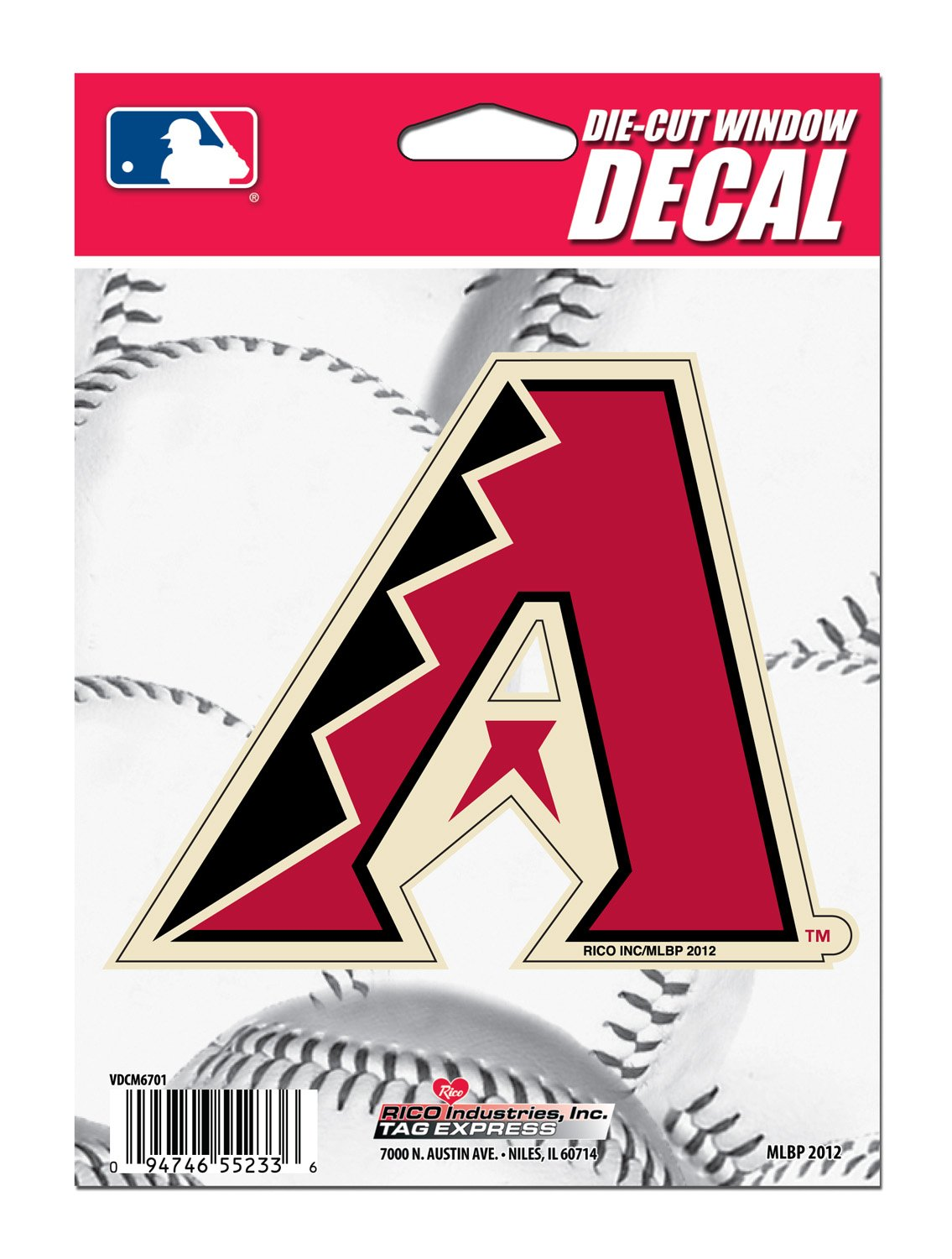 Amazoncom MLB Arizona Diamondbacks DieCut Window Decal - Die cut window decals