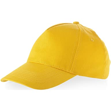 ad1be224 Memphis 5 panel cap - yellow: Amazon.co.uk: Office Products