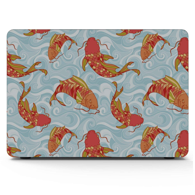 Cover for MacBook Air Sea Creatures Ornamental Fish Squid Plastic Hard Shell Compatible Mac Air 11 Pro 13 15 MacBook Pro Cover Protection for MacBook 2016-2019 Version