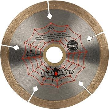 10in Black Widow Micro Diamond Cutting Blade For Porcelain Ceramic Tile Cutter