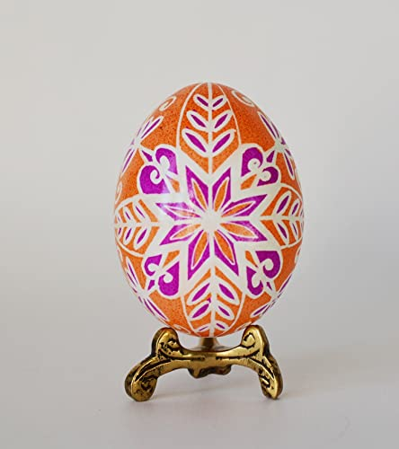 Pysanka Ukrainian Easter Egg Orange Great Wedding Favors And Bridesmaids Gifts