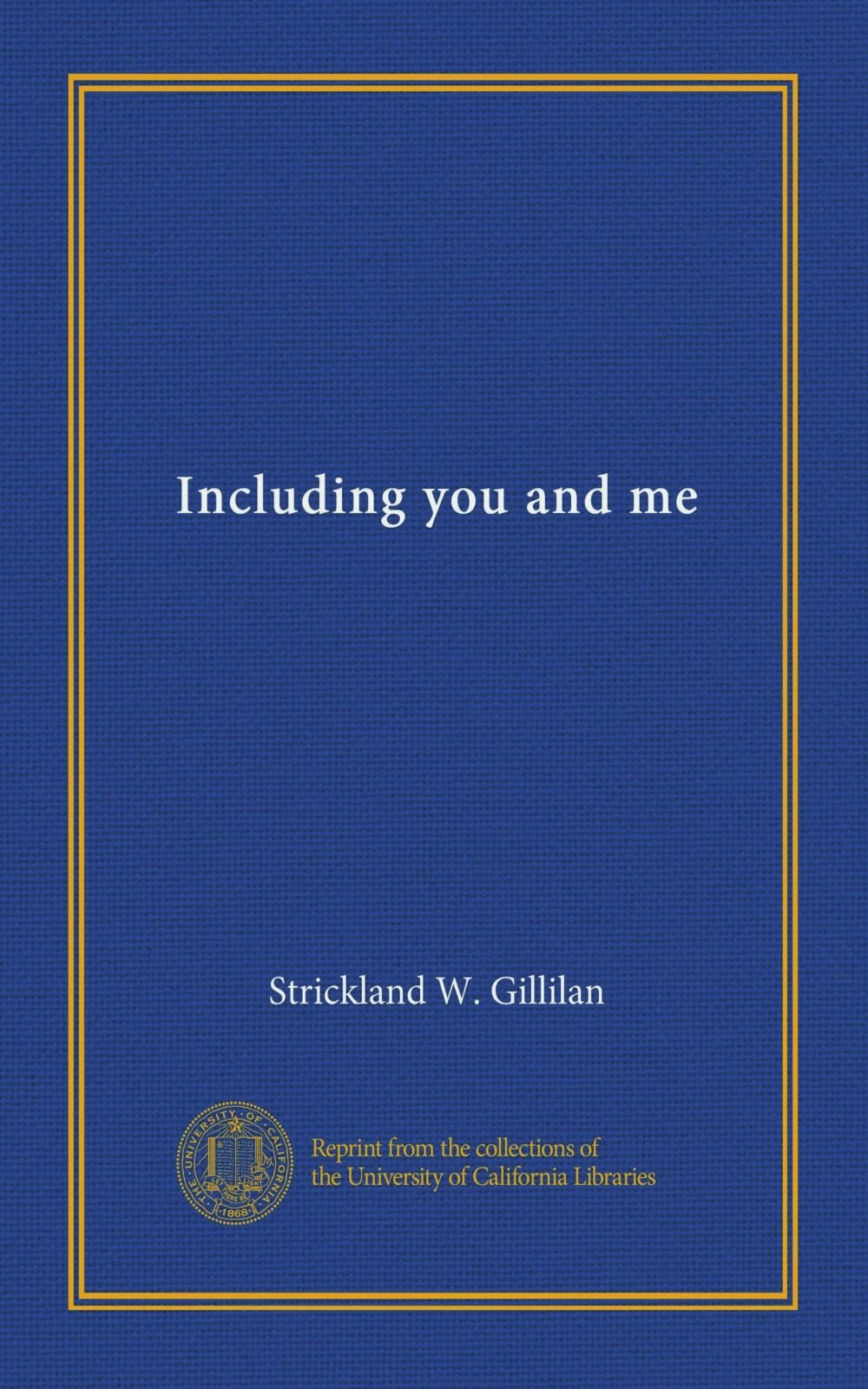 Download Including you and me pdf