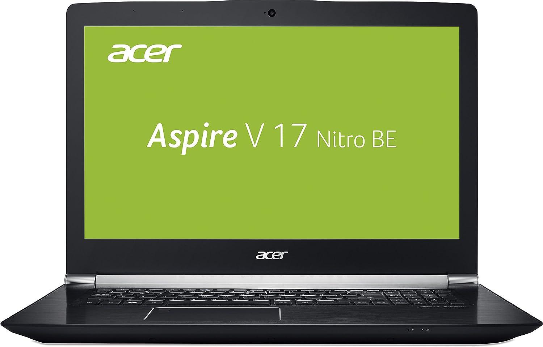 Ordenador portátil Acer Aspire V 17Nitro Black Edition Gaming negro Schwarz (Soft Touch) 256 GB SSD + 1000 GB HDD