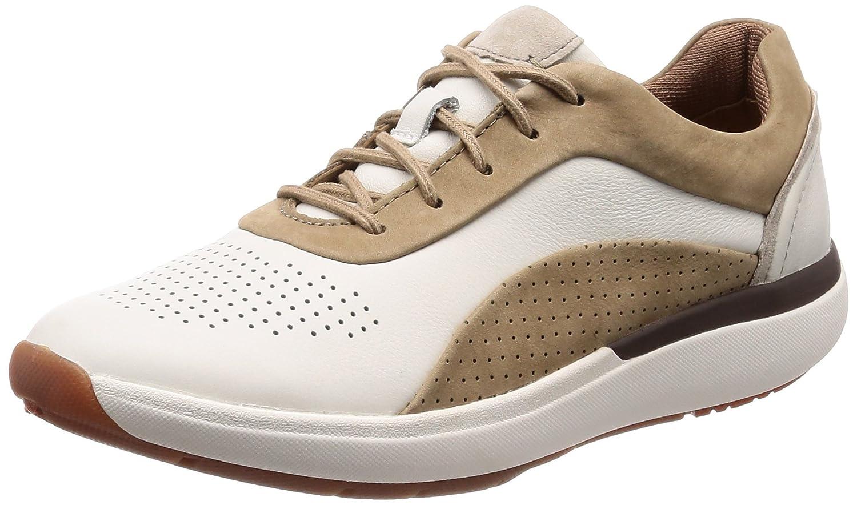 Zapatillas Deporte de Mujer Clarks 26132671 UN Cruise White Combi 37 EU