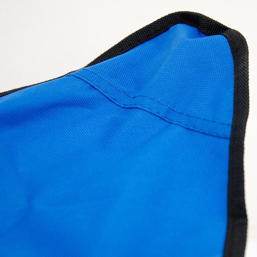 Banquillo Ideal para IR de Pesca Viaje Camping Acampada etc Eyepower Taburete Plegable de Campamento Pr/áctica Sillita Tr/ípode f/ácil de Transportar Azul