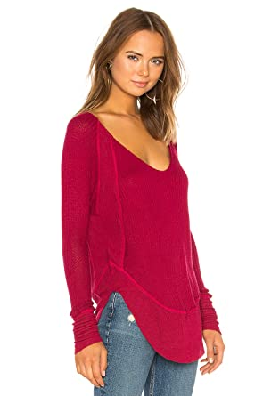 9c194696ec Free People Catalina Thermal TOP (Red) at Amazon Women s Clothing store