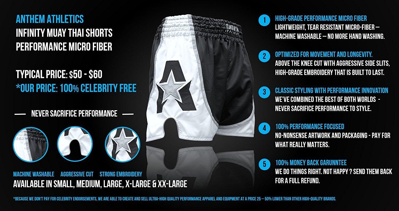 NEW! Anthem Athletics INFINITY Muay Thai Shorts