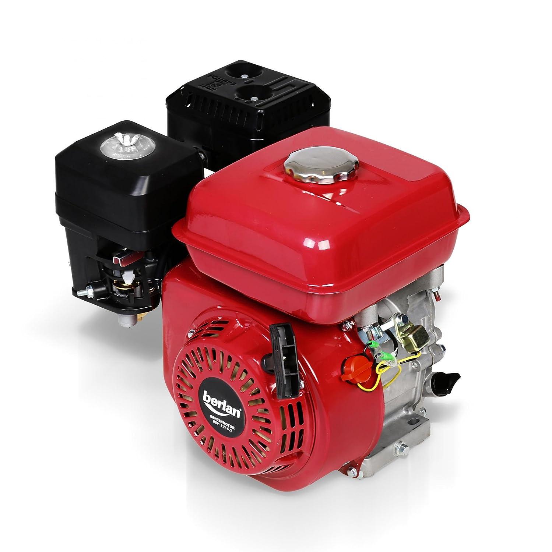 Berlan de 4 del Motor de gasolina 6,5 PS - bbm215 - 6.5: Amazon.es ...