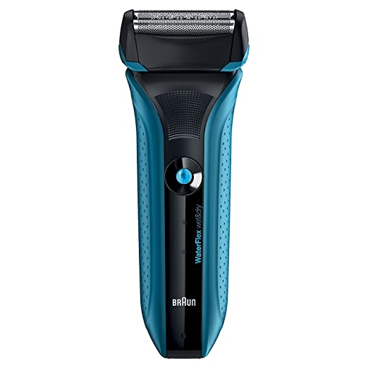407 opinioni per Braun WaterFlex WF2s Wet&Dry Rasoio Elettrico da Barba per Uomo con Testina