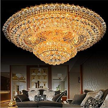 YUN Light@ Grande Lujoso Villa K9 Luces Cristal Araña Viva ...