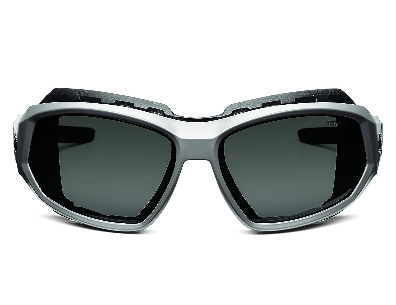 Ergodyne Skullerz Loki Convertible Anti-Fog Safety Sunglasses//Goggle Kit