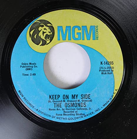 The Osmonds - The Osmonds 45 RPM Keep On My Side / Yo-Yo - Amazon.com Music